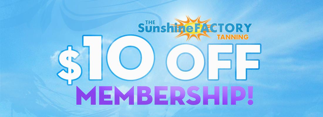$10 off Membership